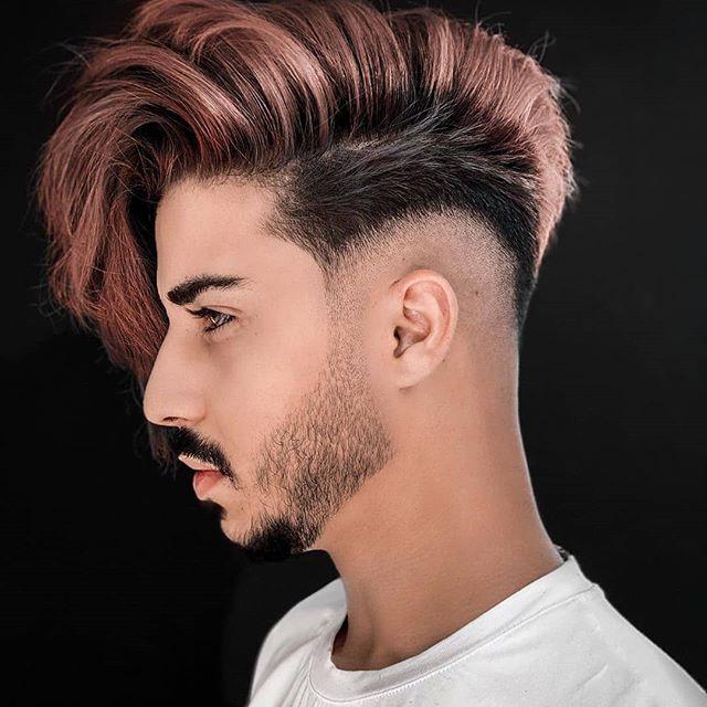 35 inspirierende mittlere frisuren für männer seite kurz
