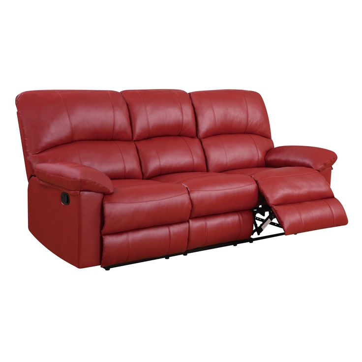 Leather Sleeper Sofa Furniture of America Knightly Recliner Sofa Red IDF RD SF Products Pinterest Products
