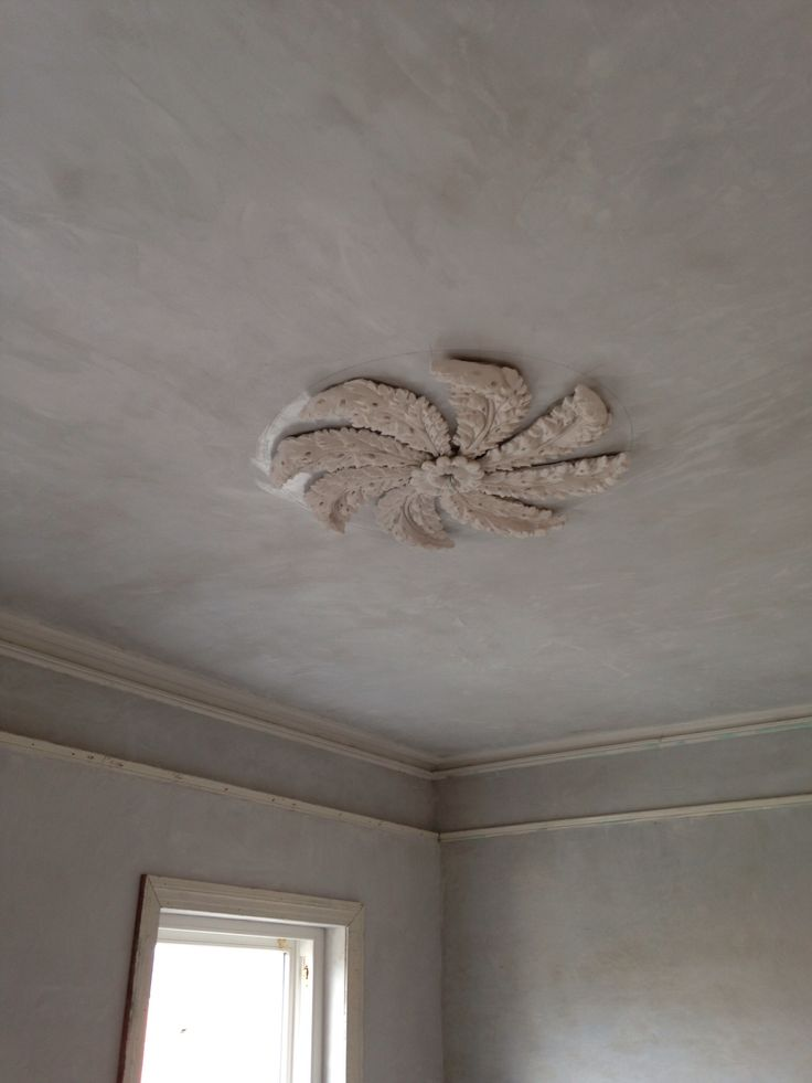 Ceiling rose recreated