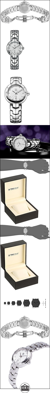 TAG Heuer WAT1411.BA0954 - Reloj de pulsera Mujer, Acero inoxidable, color Plata  ✿ Relojes para mujer - (Lujo) ✿