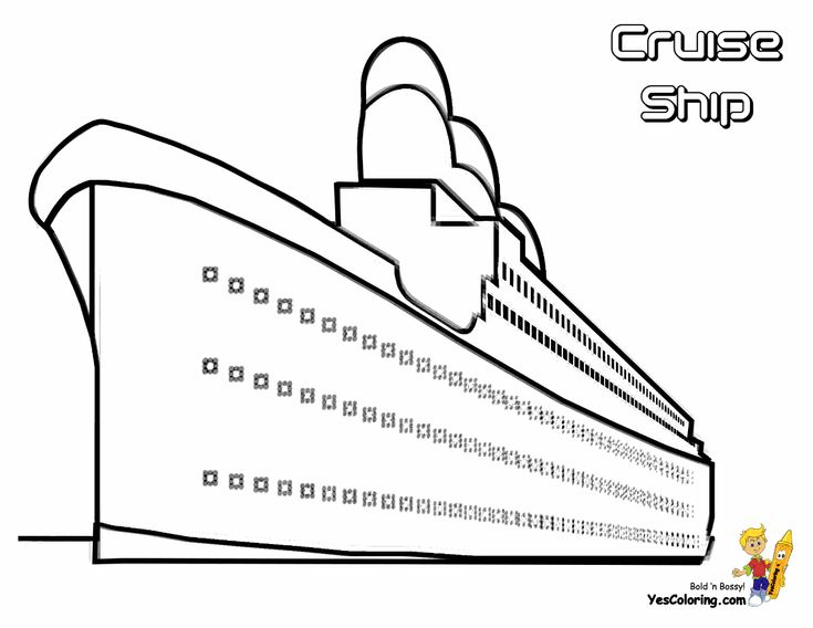 43 best images about free sharp ships boats coloring pages for Cruise ship coloring page