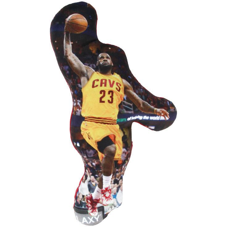LeBron James Cleveland Cavaliers Player Printed Pillow - $7.19