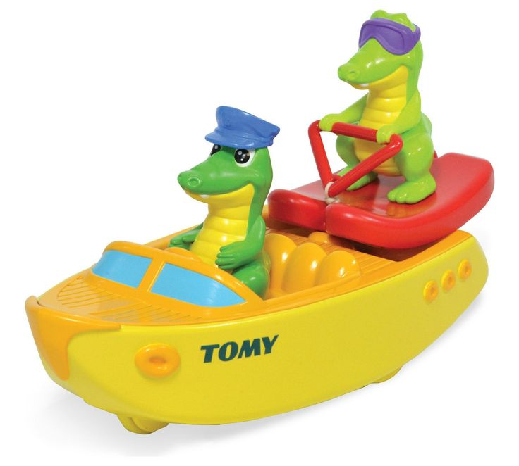 Buy Tomy Ski Boat Croc at Argos.co.uk, visit Argos.co.uk to shop online for Baby bath toys and books, Baby baths and accessories, Bathing and changing, Baby and nursery