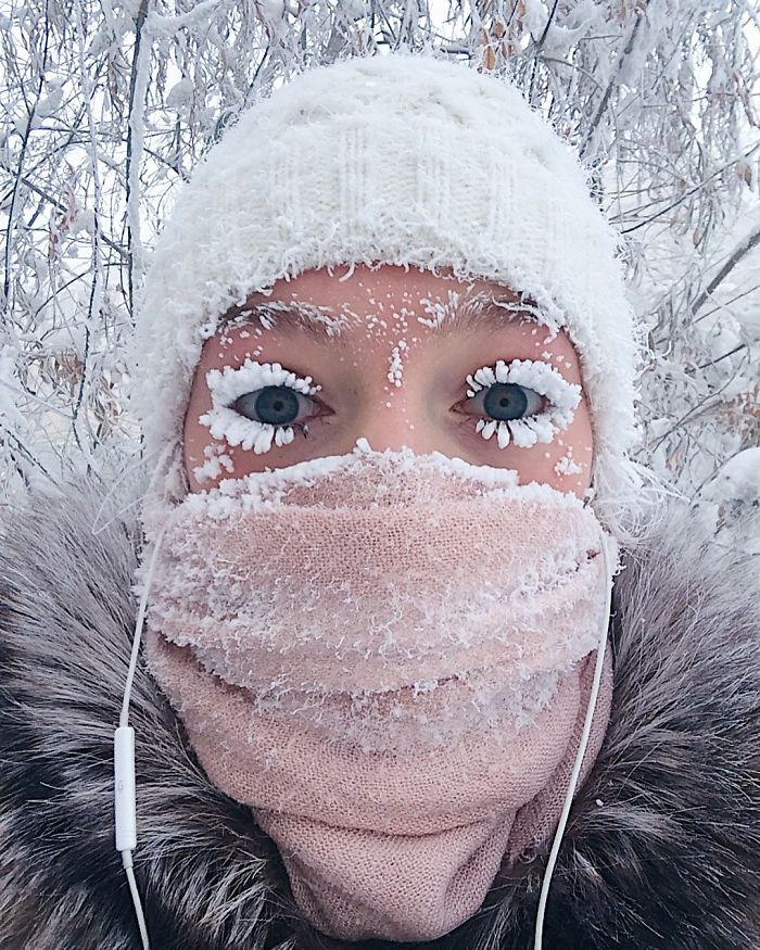 A Thermometer Just Broke At -62°C (-80°F) In The World's Coldest Village, And The Photos Are Breathtaking