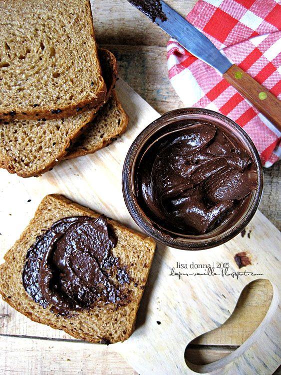 Dapur Vanilla: Selai Cokelat Kacang Homemade