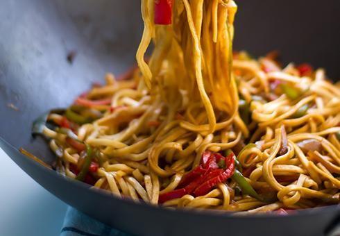 Wok recept: smažené nudle šéfkuchaře Jingua
