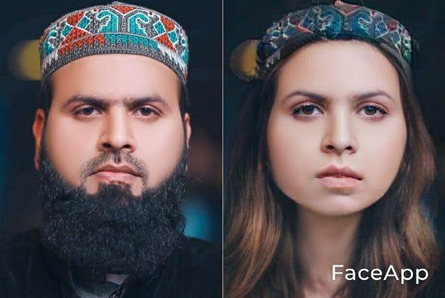Famous Pakistani Male Tik Tok Actors After Transformation Into Females Using Face App Actors Celebrity News Pakistani
