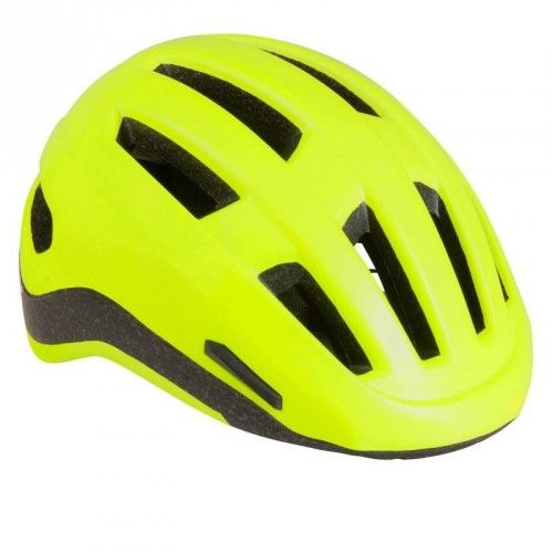 Bicycles - CASQUE VELO VILLE 500 FLUO