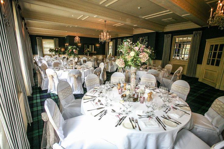 Wedding breakfast at The Swan Hotel, Bibury