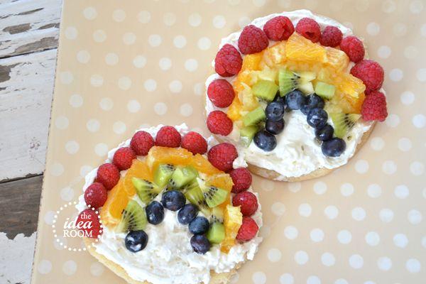 Fruit Pizza Rainbow Cookies