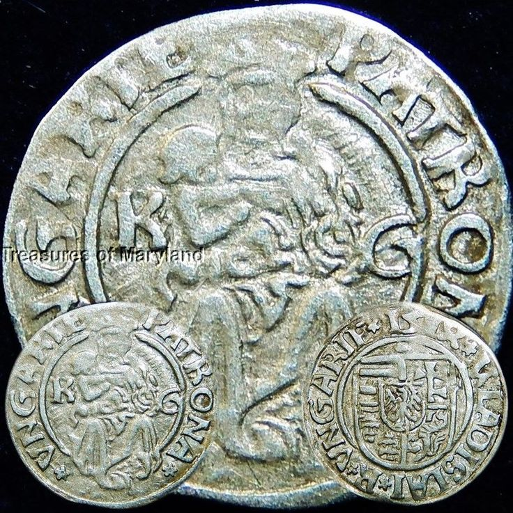 EXCELLENT! 1514 MARY HOLDING BABY JESUS HUNGARIAN DENAR sku #DN9