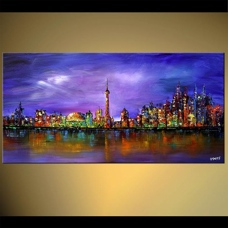 Abstract Oil Paintings On Canvas For Sale Toronto