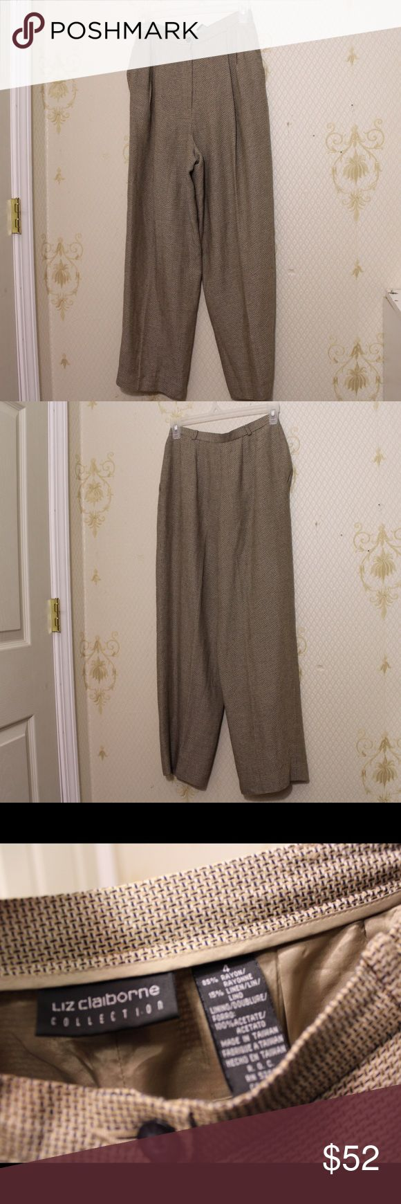 Liz Claiborne Size 4 Bottoms Liz Claiborne Size 4 Bottoms. No known defects. Liz Claiborne Pants