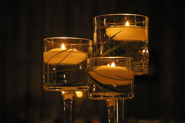 The Monet Vases Aka My Long Stem Floating Candle Holders 15 18 And 20 Quot Ideas For My Rental