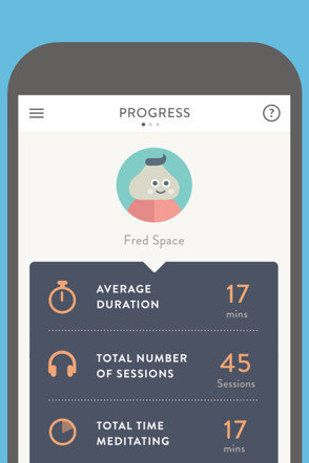 Headspace ($7.99/month, iOS and Android) | 13 Subway-Friendly Apps That'll Work While You're Underground