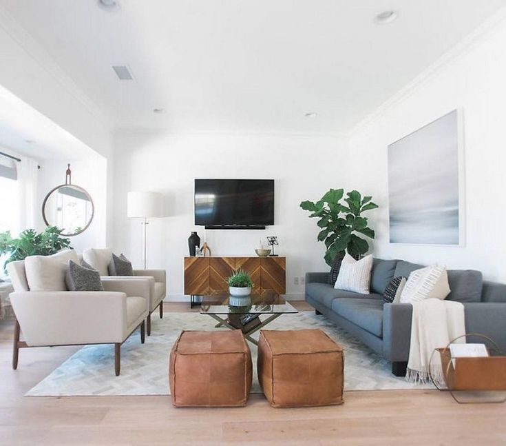45+ Awesome Modern Mid Century Living Room Design Ideas