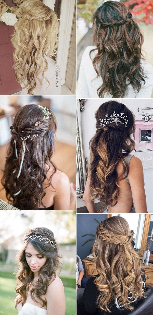 20 Sensible Half Up Half Down Marriage ceremony Hairstyles for 2019