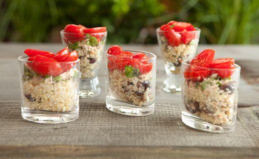 #Epicure Italian Tuna Quinoa Salad (200 calories/serving)