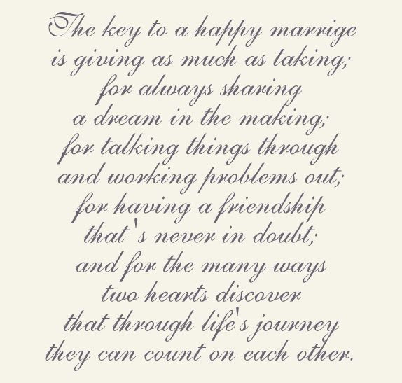 A Happy Marriage Wedding Greeting, eCards, Free Greeting Cards, E-cards, Romantic ecards, Romantic poetry, Birthday Cards, Friendship cards, and Inspirational and motivational eCards at BobetteBryan.com