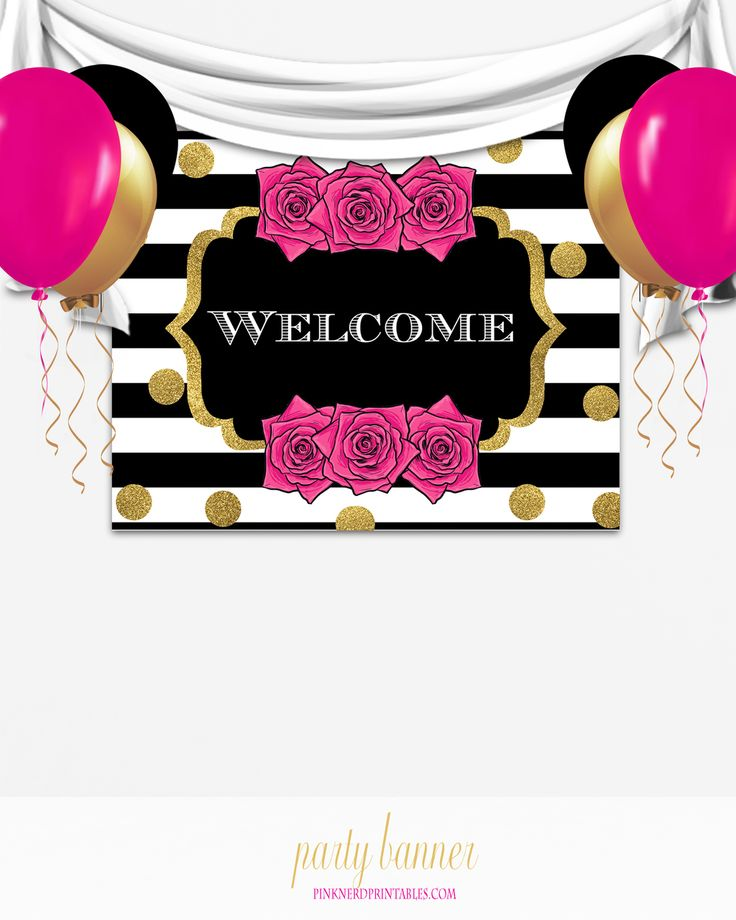 1000+ Ideas About Printable Birthday Banner On Pinterest