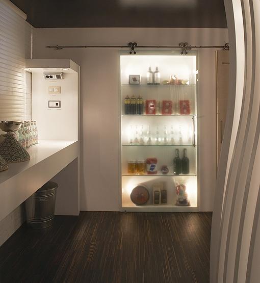 108 mejores im genes sobre puertas de cristal en pinterest - Puertas correderas para cocinas ...