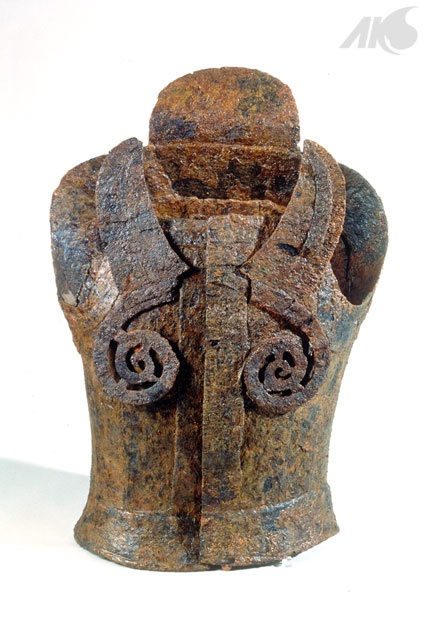 Three Kingdoms Period/Gaya period Dangap (iron plate armor) Ca. 42–532 CE.