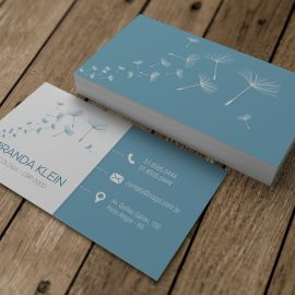 Cartão de Visita Slim - Soft - Orvalho