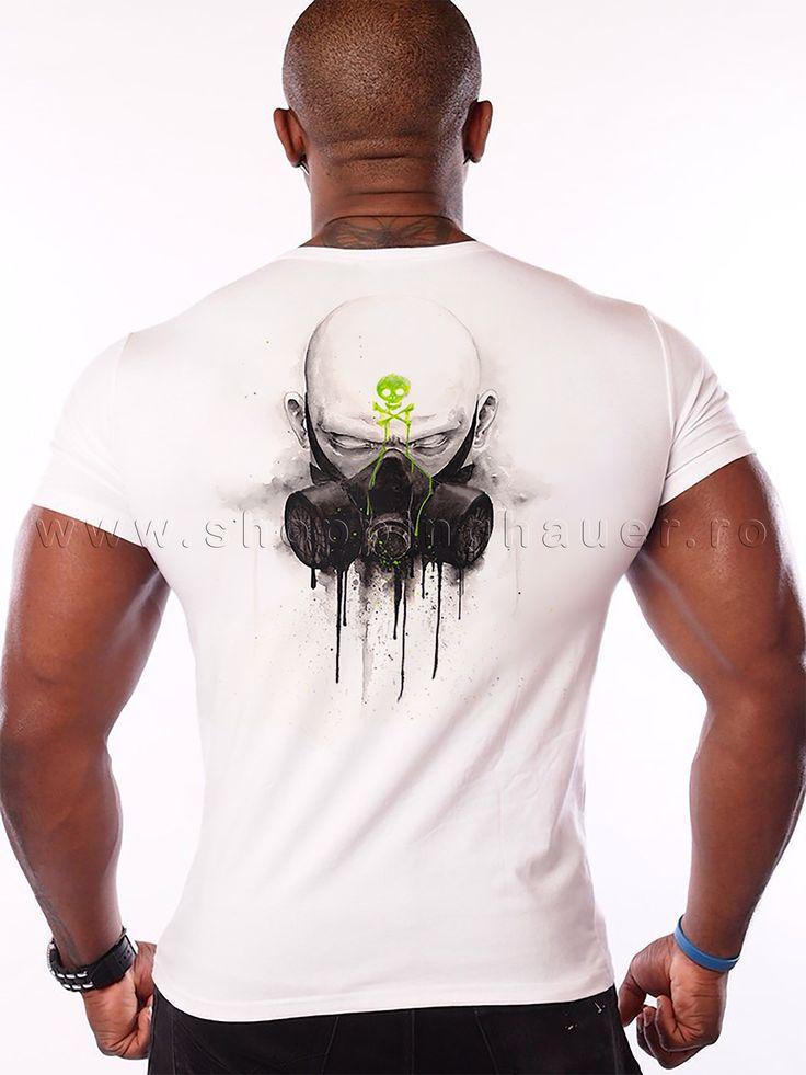 t-shirt : man with mask. s - xxxl. Tricou : barbat cu masca .