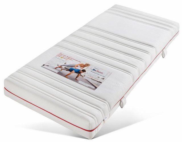 Komfortschaummatratze »HS 1900«, , 19 cm hoch, Raumgewicht: 35, (1-tlg), Machen Sie sich fit und ges