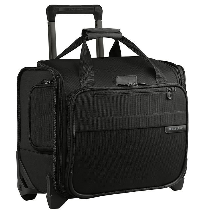 Amazon.com | Briggs & Riley Baseline Rolling Cabin Bag, Black, Small | Carry-Ons