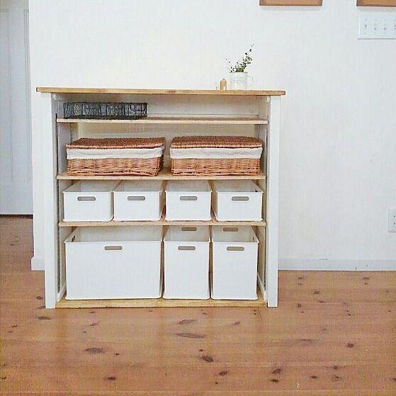 ニトリで購入できるインボックス活用術!すっきりきれいな収納法とDIYアイデアをご紹介 | folk