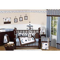 Starry Night 9-piece Crib Bedding Set | Overstock™ Shopping - Big Discounts on Sweet Jojo Designs Bedding Sets