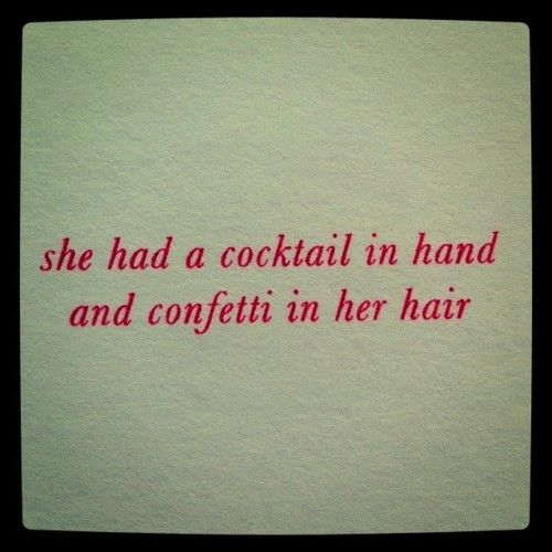 :): Inspiration, Girl, Life, Quotes, Cocktail, Year, Things, Kate Spade, Hair