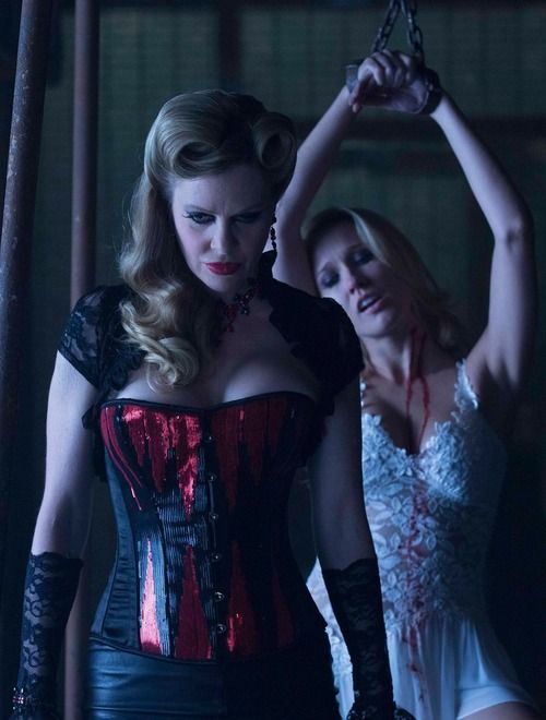 True Blood Season 7 - the finale episode! Pam and Sarah Newlin.