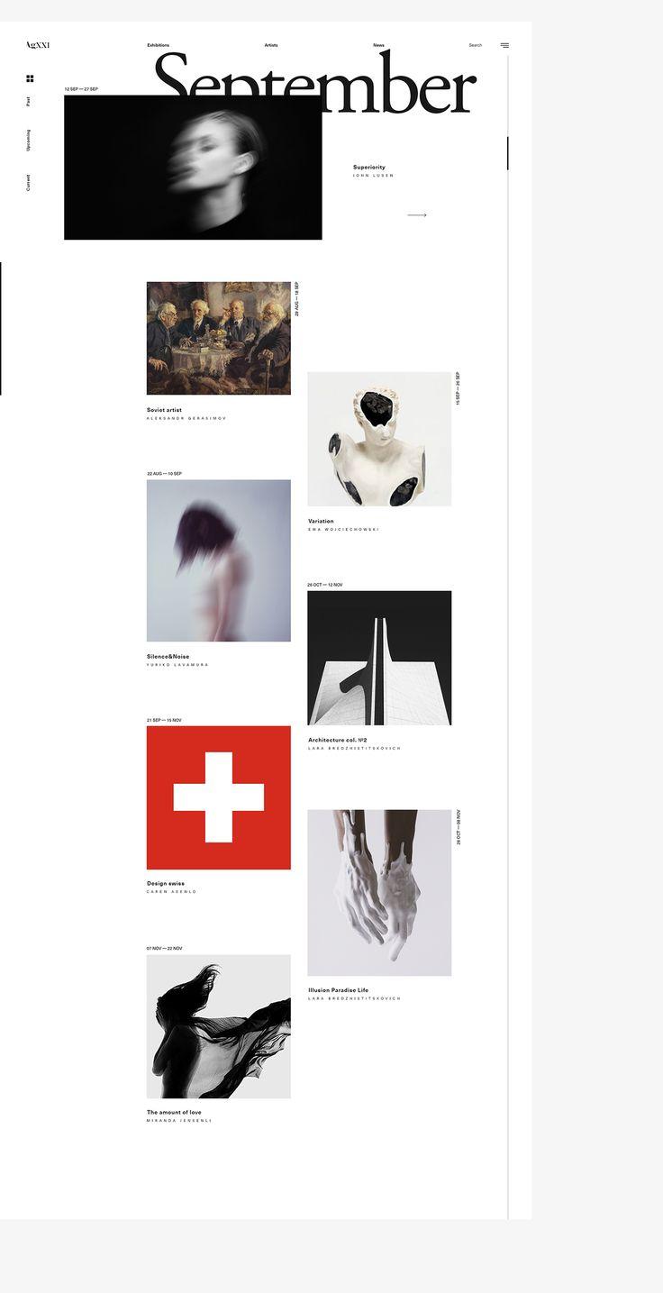 AgXXI | Website on Behance
