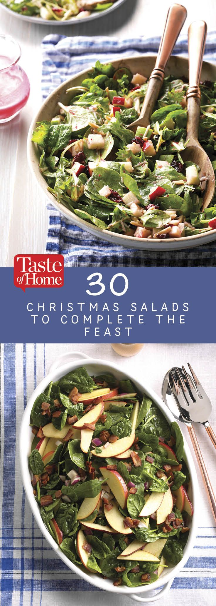 30 Christmas Salads to Complete the Feast
