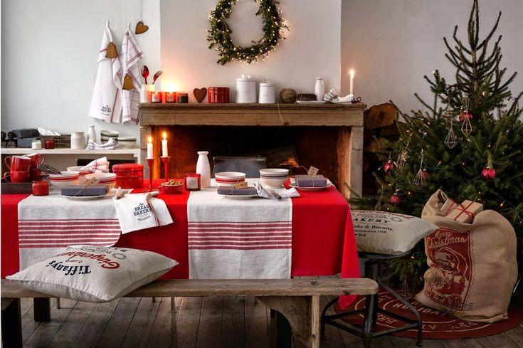 salones rústicos en navidad - Buscar con Google: