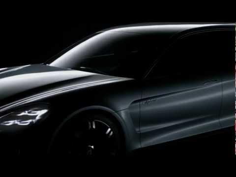 Porsche Panamera Sport Turismo Concept reveal promo