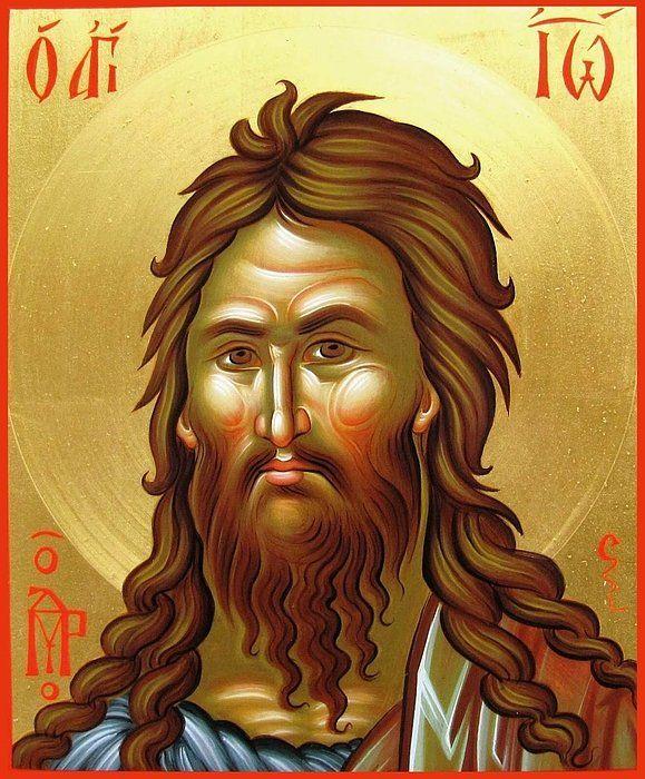 St.john The Baptist Print By Daniel Neculae