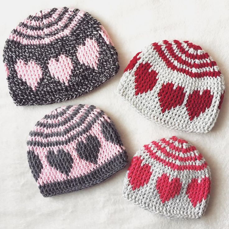 "109 Likes, 9 Comments - Stacey L (@inslstitches) on Instagram: ""This super cute heart hat pattern should be ready for release before the end of the weekend💟…"""