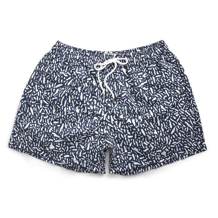 SS17 - Traces Navy Blue swim short. 65€ at www.sunnobybenecape.com #boardshorts #mensswimwear #swimtrunks #bañadoreshombre #2017 #ss17 #sunnobybenecape #sunno #beachwear #swimshorts #menswear