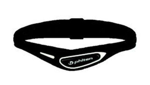 Phiten Bracelet S Cross Bk/White 15cm