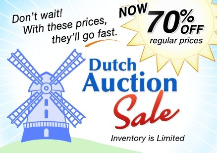 5th Annual Dutch Auction Bead Sale is now at 70% Off!  In a Dutch Auctions, prices are progressivly reduced as the sale goes on. Stay tuned for even bigger savings!  #Beading #BeadSale #diyjewelry #jewelrymaking #jewelrymakingsupplies #handmade