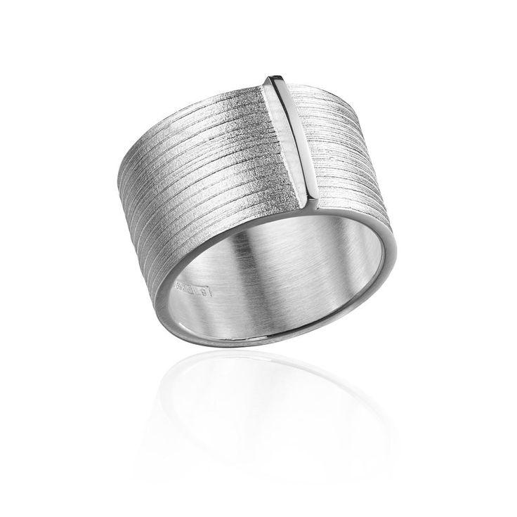 NILE Silver Ring / Design Björn Weckström / Handmade in Helsinki / Lapponia Jewelry