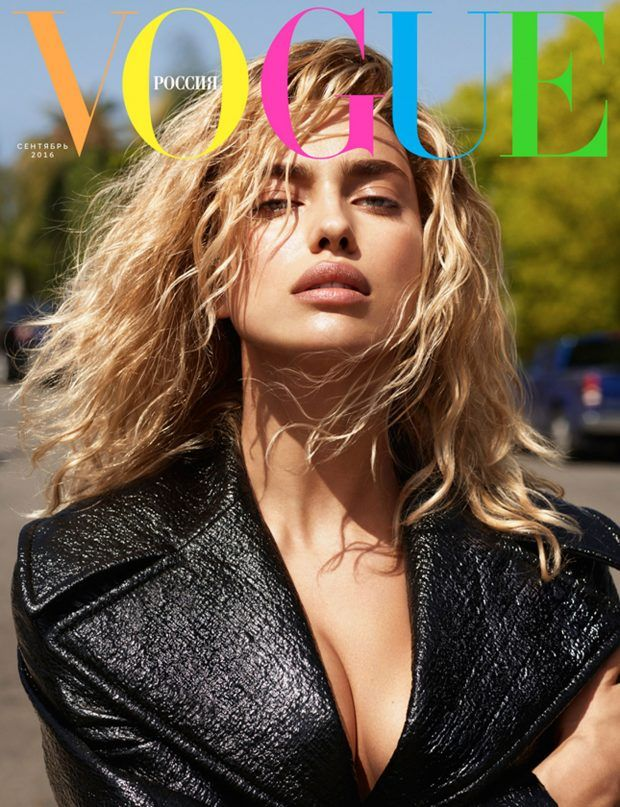 IRINA SHAYK Is VOGUE Russia September Cover Girl!