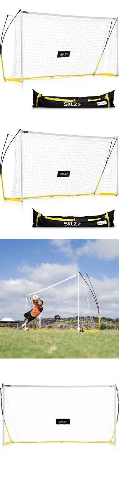 Goals and Nets 159180: New Sklz Pro Soccer Training Goal - Size:12 X6 -> BUY IT NOW ONLY: $203.89 on eBay!