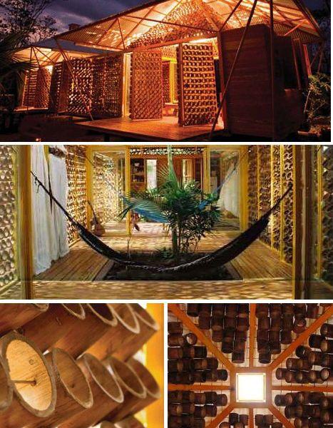 Tropical Bamboo Home, Costa Rica