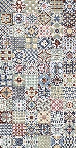 Rustic Heritage Black 16.5x16.5cm porcelain tile