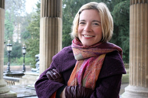 Lucy Worsley - makes history fun. Love her style.