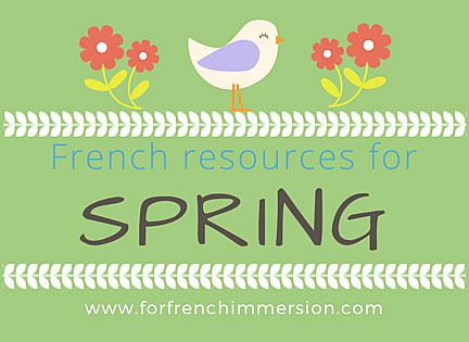 French Spring Resources for your Classroom